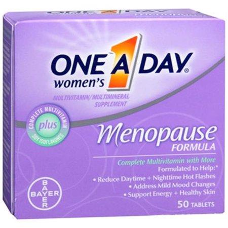 One-A-Day La ménopause Formule complète de multivitamines 50 Comprimés femmes (pack de 3)