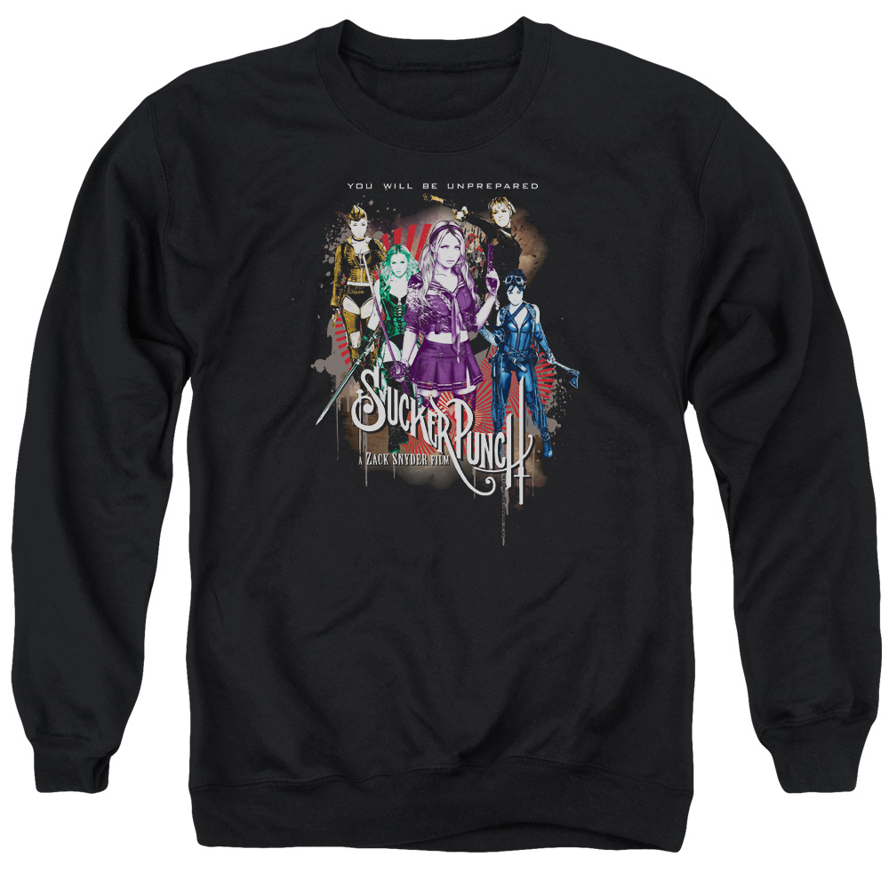 Sucker Punch Unprepared Mens Crewneck Sweatshirt