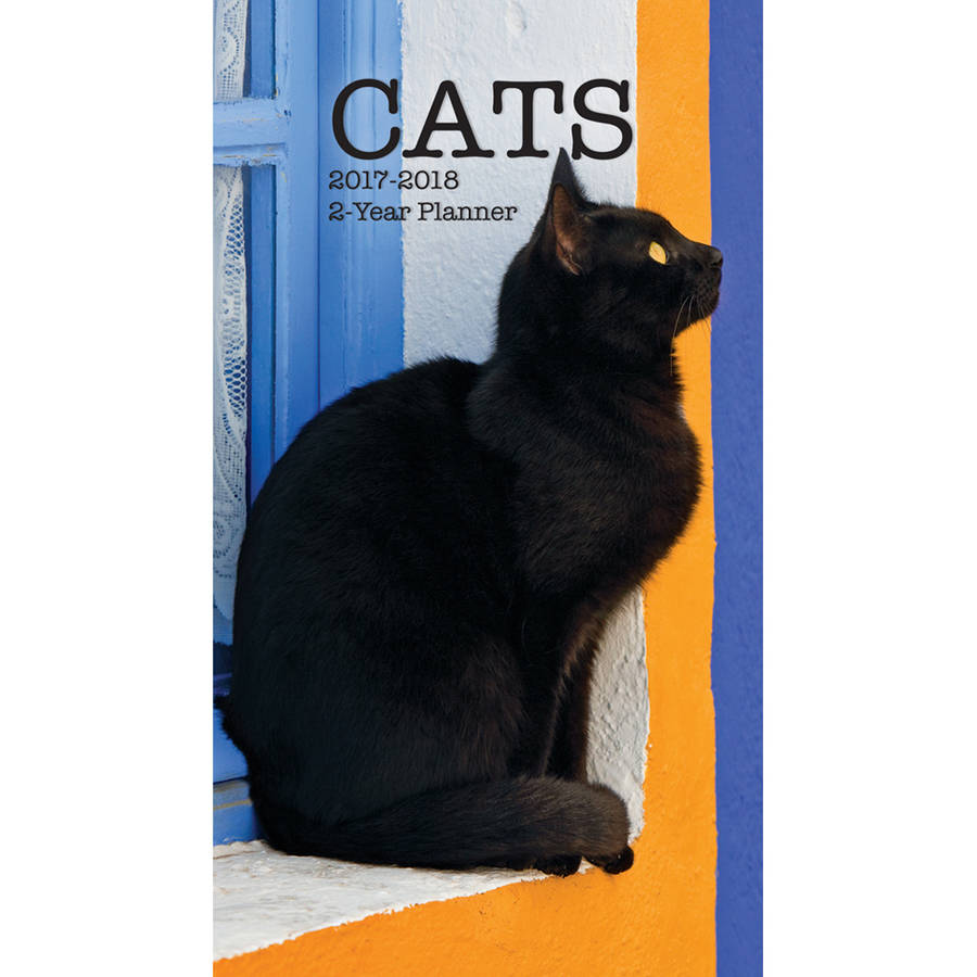 Turner Photographic 2017 2-Year Planner, Cats