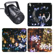 Moving Led Light Projector Landscape Lamp Christmas Decoration Outdoor
