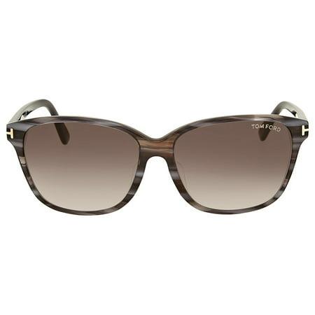 025695f09d674 Tom Ford - Tom Ford Dana Brown Gradient Sunglasses - Walmart.com