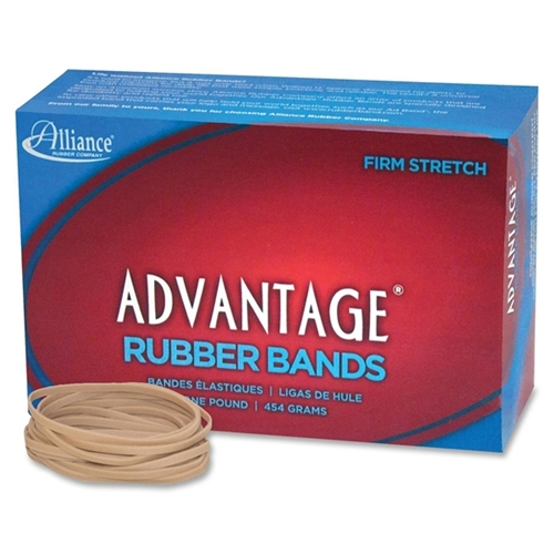 "Advantage Rubber Bands Size 33 1Lb 3-1/2""X1/8"" Natural 26335"