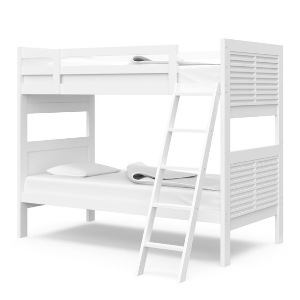 Thomasville Kids Milo Twin Over Twin Bunk Bed, White