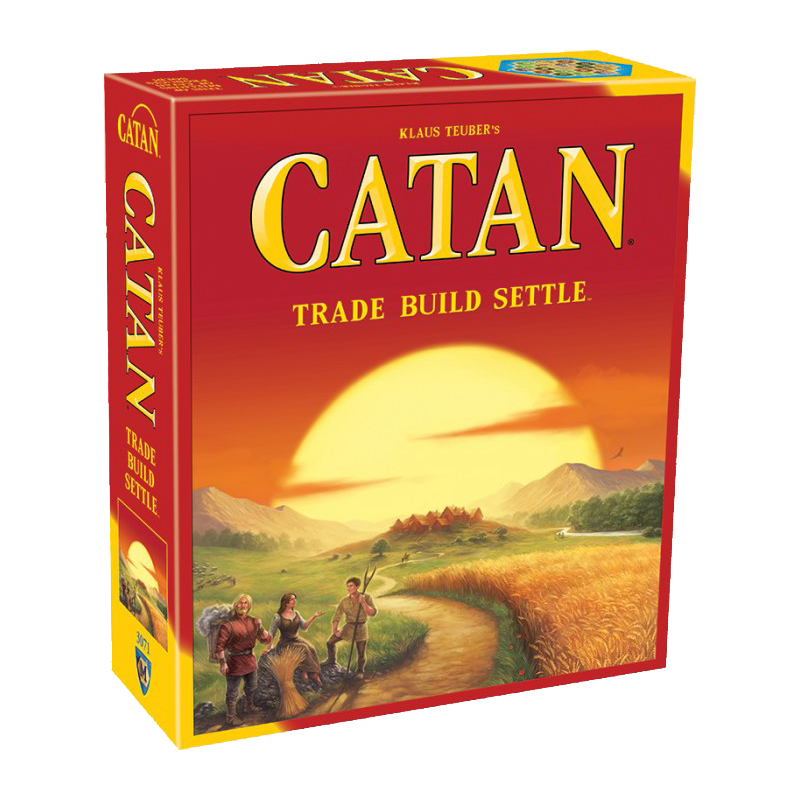 Settlers of Catan Board Game: 5th Edition by Mayfair Games