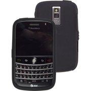 BlackBerry Bold 9000 Silicone Gel Case - Black