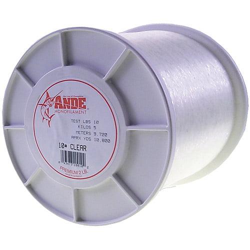 Ande Premium Mono Line Pink 30# 2Lb Spool PP-2-30
