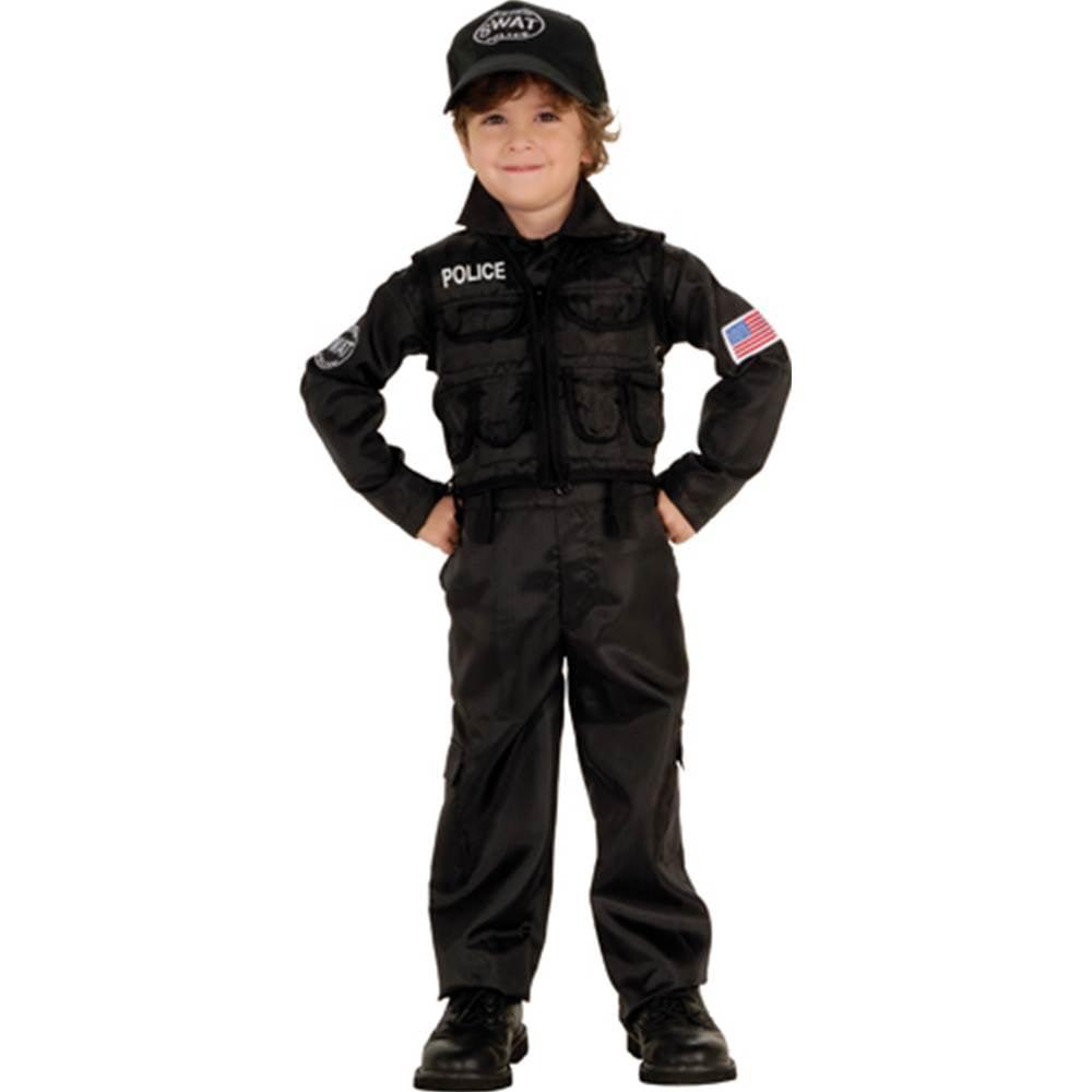 SWAT Police Officer Toddler Costume