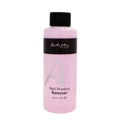 Artistic Nail Design 4oz Product Remover Gel Soak Off Spa Manicure Preparation , 3206