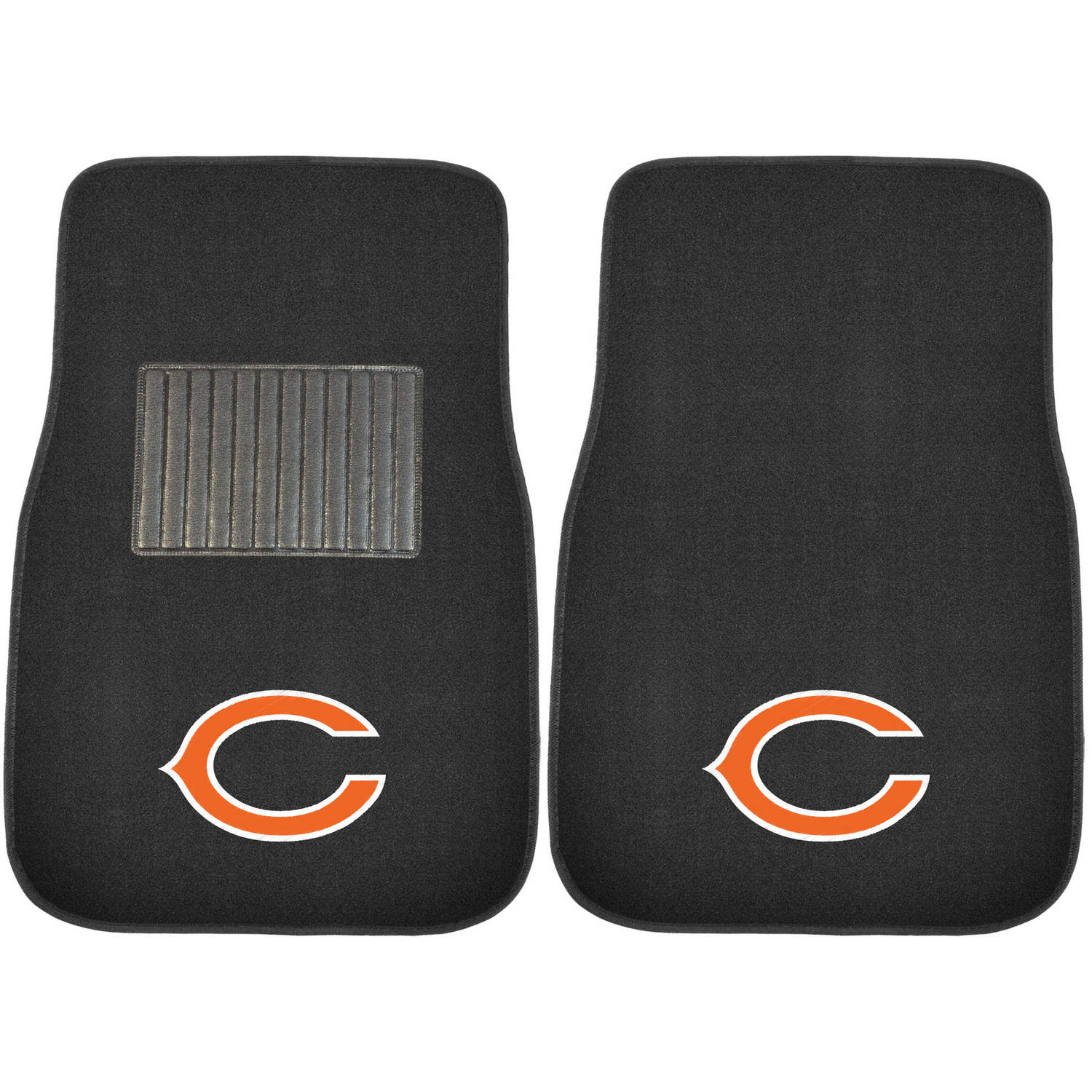 NFL Chicago Bears Embroidered Car Mats