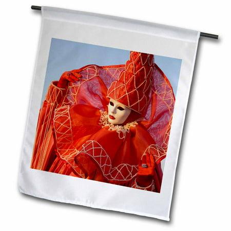 Image of 3dRose Italy, Venice, Carnival festival Costumes - EU16 BJA0778 - Jaynes Gallery - Garden Flag, 12 by 18-inch
