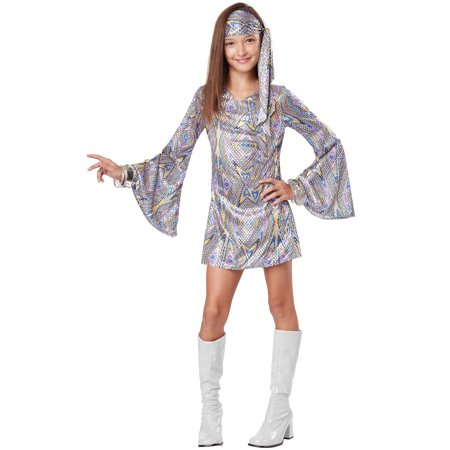 Disco Darling Child Costume - Girl Disco Costume
