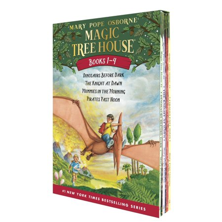 Magic Tree House Volumes 1-4 Boxed Set (Magic Tree House Movie)