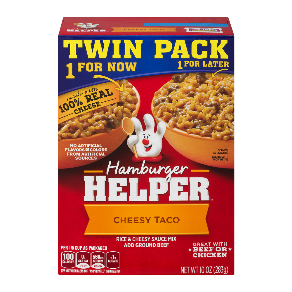 Hamburger Helper Cheesy Taco - 2 PK, 10.0 OZ