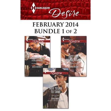 Harlequin Desire February 2014 - Bundle 1 of 2 - eBook