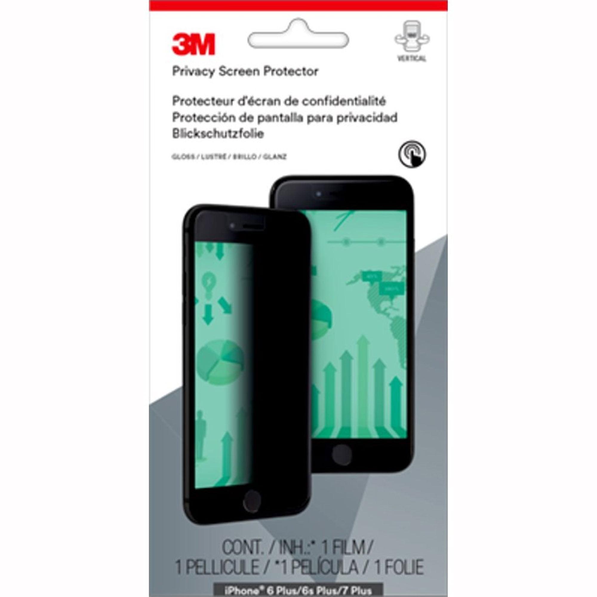 3M Privacy Screen Protector for Apple iPhone® 6 Plus/6SPlus/7Plus/8 Plus