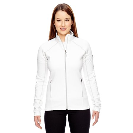 Marmot Women's Stretch Fleece Jacket, White, Medium (Marmot Fleece Jacket)