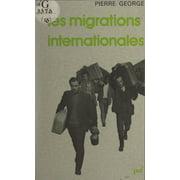 Les migrations internationales - eBook