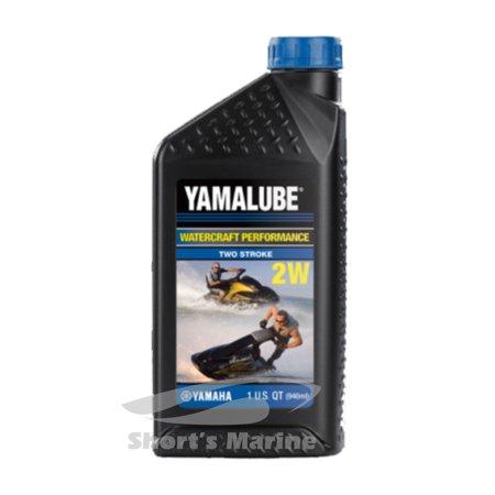 Yamaha Yamalube 2-W 2-Stroke Watercraft Performance Oil One Quart