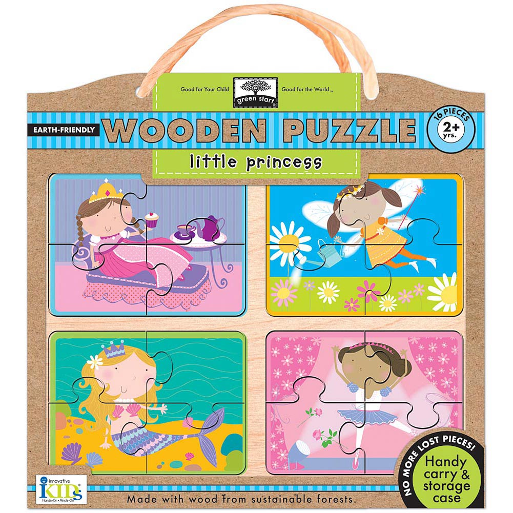 Little Princess Wooden 16 Piece Puzzle