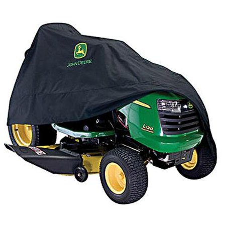 John Deere Deluxe Riding Mower Cover Accessory 54 in. 100 Series Black (Best John Deere Riding Mower 2019)