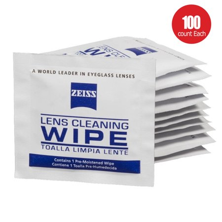 ecfdcd758583 Pre-Moistened Lens Cleaning Wipes - Cleans Bacteria