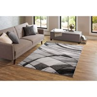 Better Homes & Gardens Gray Abstract Area Rug