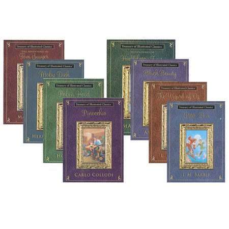 New 402716  Treasury Of Illustrated Classics Softcover Storybooks (48-Pack) Action Cheap Wholesale Discount Bulk Toys Action - Cheap Kazoos Bulk