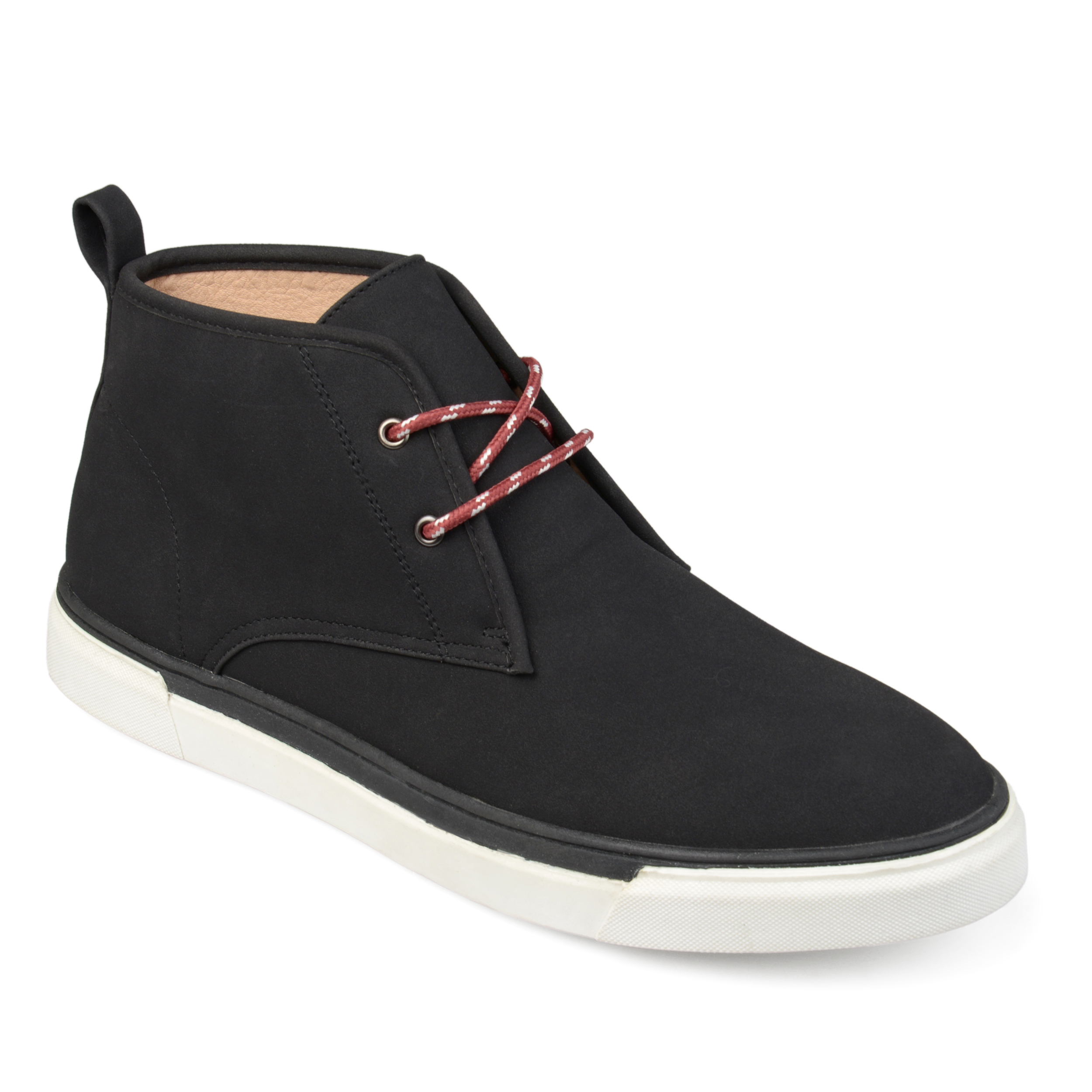 Territory Men's Casual Lace-Up Faux Suede Chukka Boots