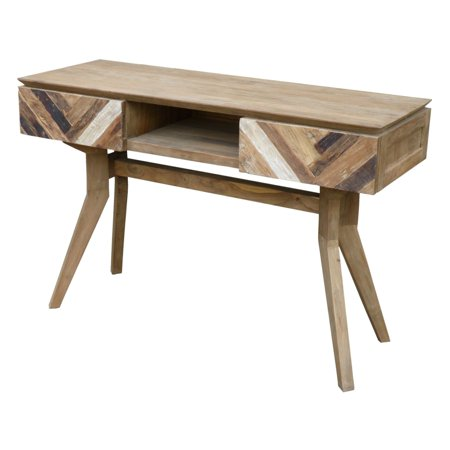 Chic Teak Art Deco Console Table ()