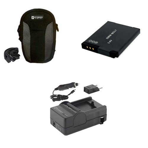 Panasonic Lumix DMC-SZ3 Digital Camera Accessory Kit includes: SDC-22 Case, SDM-1567 Charger, SDDMWBCL7 Battery