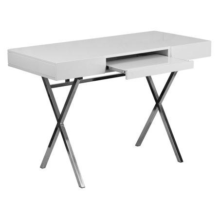 Flash Furniture 4525w X 2175d White Computer Desk With