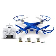 Alta Quadcopter ProCam RC Drone With Camera Remote Control And 3 Batteries