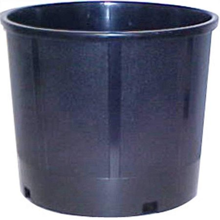 CENTRAL GARDEN AND PET New England Pottery Nursery Container 5 Gallon Black 13.25in