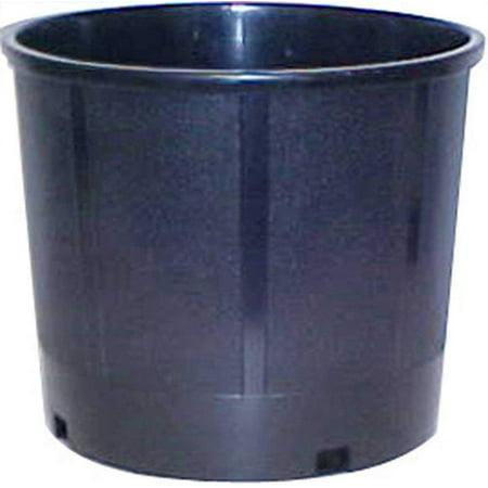 Central Garden (CENTRAL GARDEN AND PET New England Pottery Nursery Container 5 Gallon Black 13.25in)