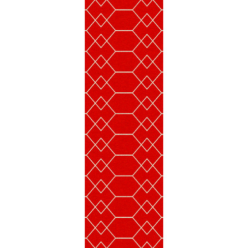 Surya Frontier Carnelian Geometric Area Rug