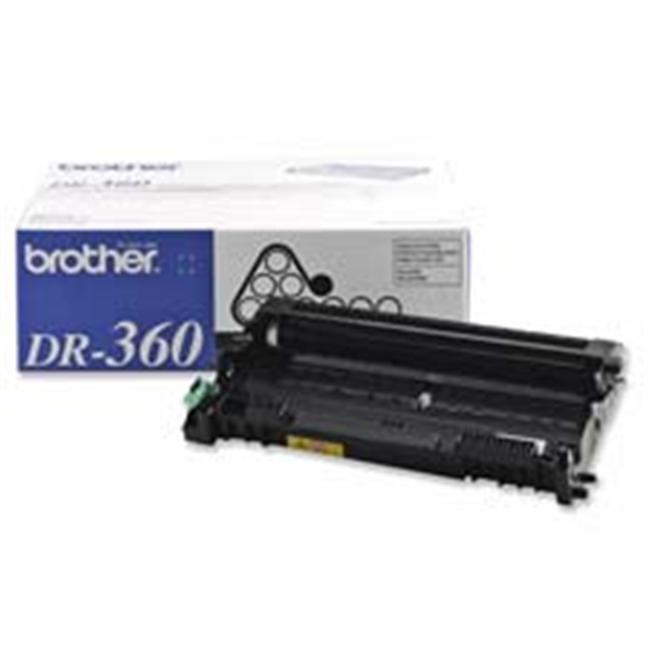 Brother International Corp. BRTDR360 Replacement Drum- 12000 Page Yield- Black