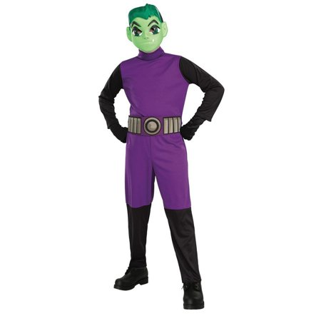 Halloween Teen Titans Beast Boy Child Costume](Clash Of The Titans Costumes Halloween)