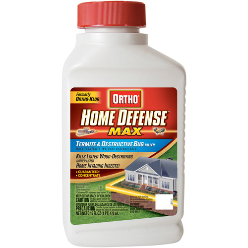 Ortho Home Defense MAX Termite & Destructive Bug Killer Concentrate (Trenching), 16 oz