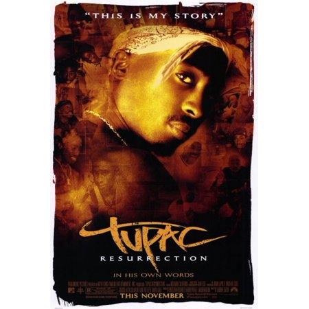 2Pac Movie Poster Print  27 X 40