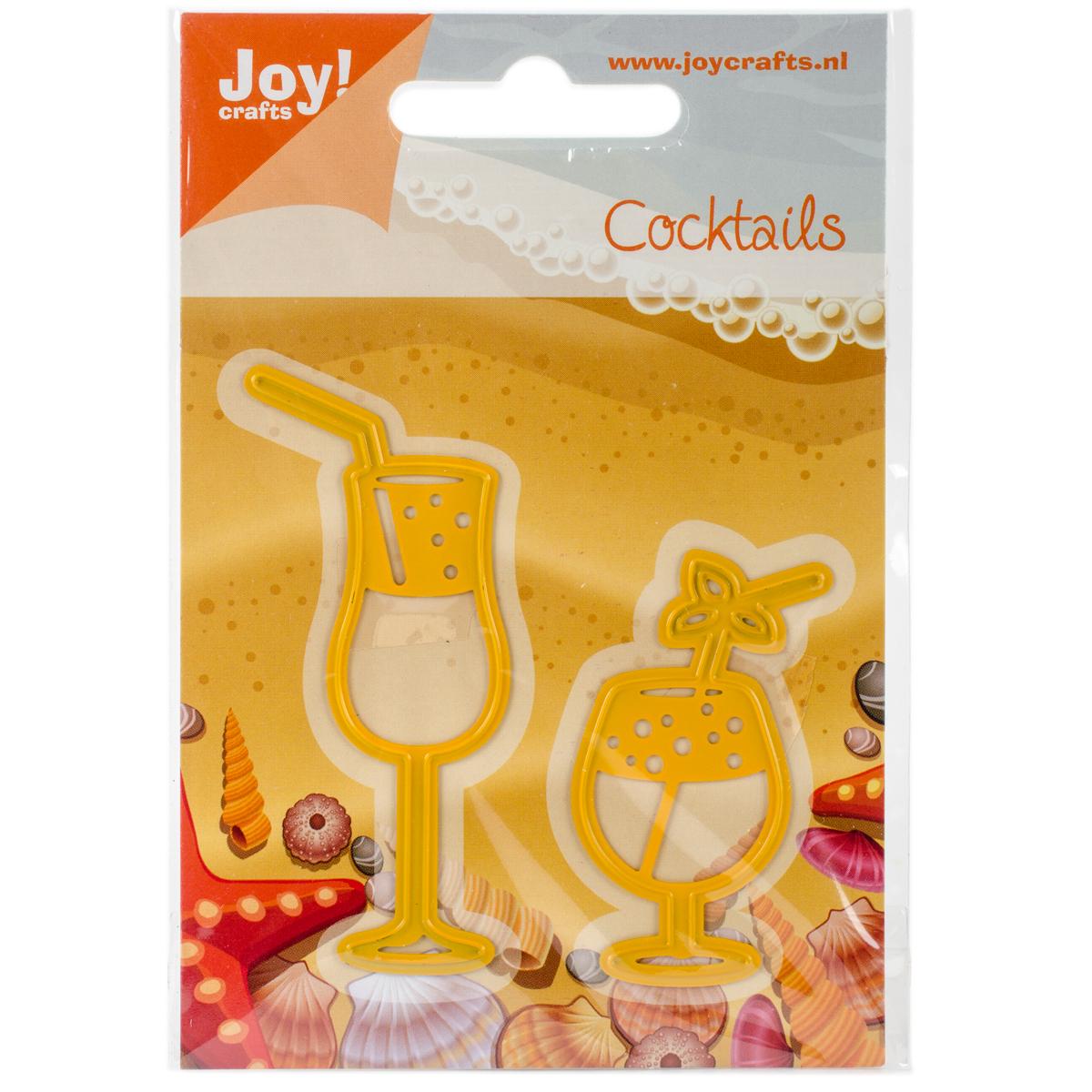 Joy! Crafts Cut & Emboss Die-Drinking Glasses 1