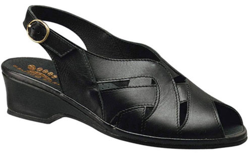 Women's Spring Step Sandals BLACK 35 M EU 5 M by TAHARI