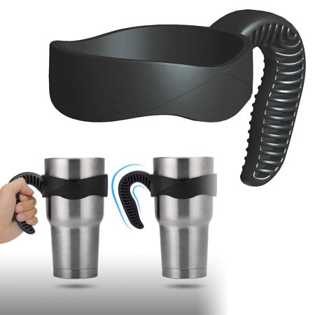 Travel Cup Holder Handle for 30z YETI RTIC Ozark Trail Rambler Tumbler, Tumblers Handles Holder for Most Standard 30oz tumblers, including Yeti, Rtic, Ozark Trail, BOSS, SIC, Magnum 30 Oz tumblers