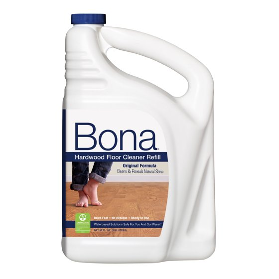 Bona Hardwood Floor Cleaner Refill 96 Fl Oz Walmart
