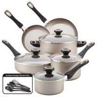 Farberware High-Performance Nonstick Cookware Set, 15 Piece