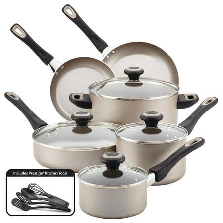 Farberware Stainless Steel Classic Cookware - Farberware High-Performance Nonstick 15 Piece Cookware Set