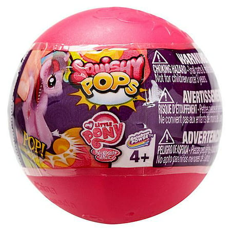 Squishy Pops Series 1 My Little Pony Squishy Pops Mystery Capsule Pack - Squishy Shop Online