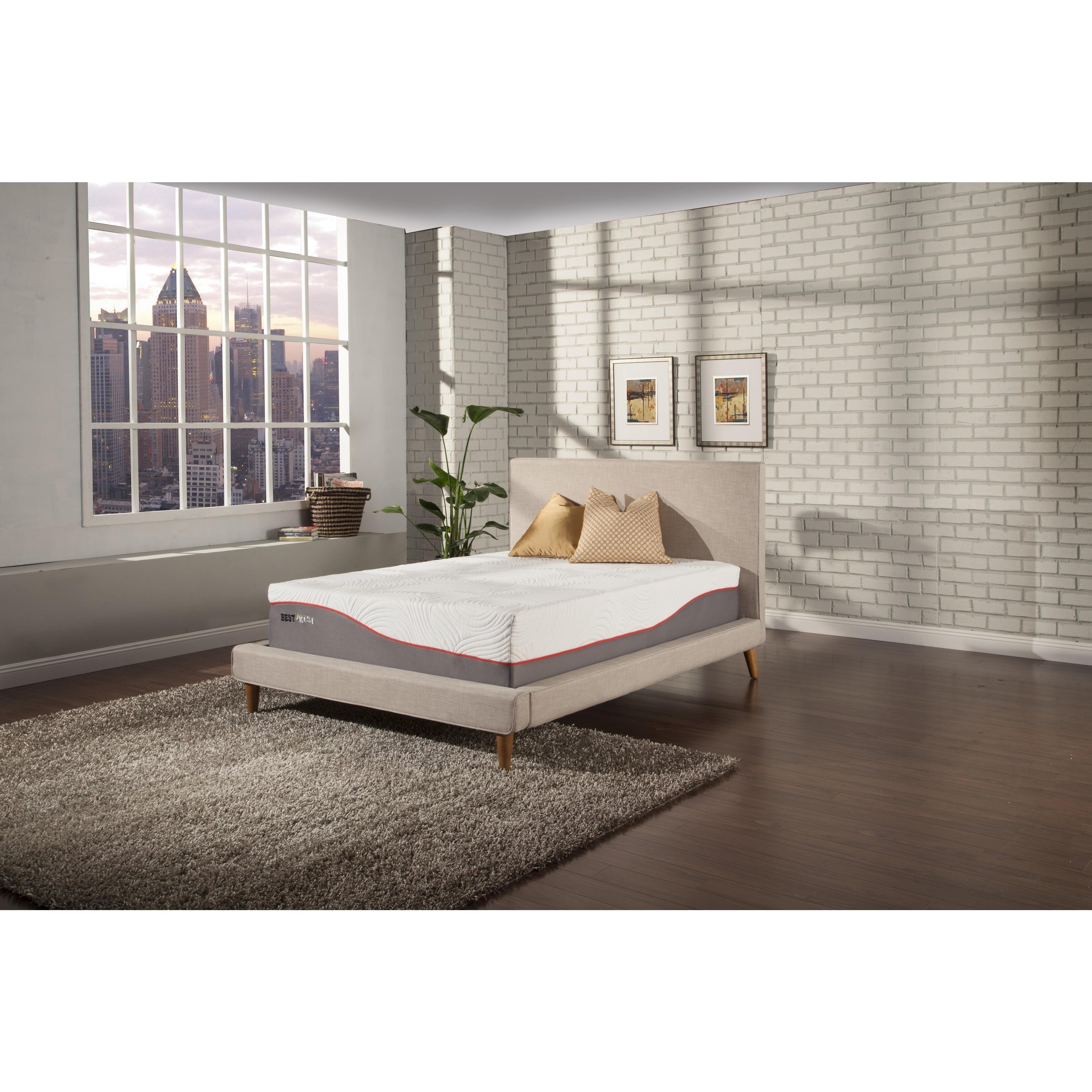 Kittrich Best Rest 13-inch Twin XL-size Gel Memory Foam Twin Mattress
