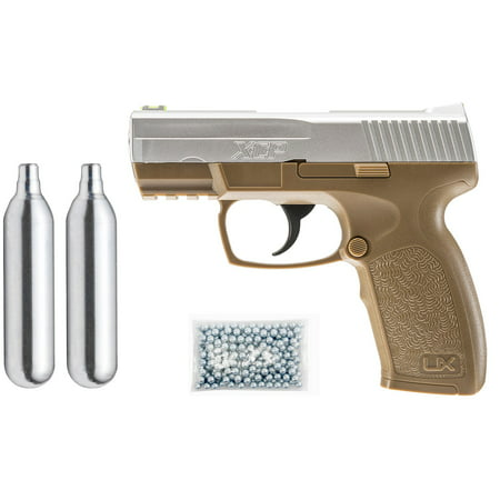 Umarex XCP Air Pistol Kit, Includes: 2 C02 + 250 BBs + (Best Air Rifle For Long Range Shooting)