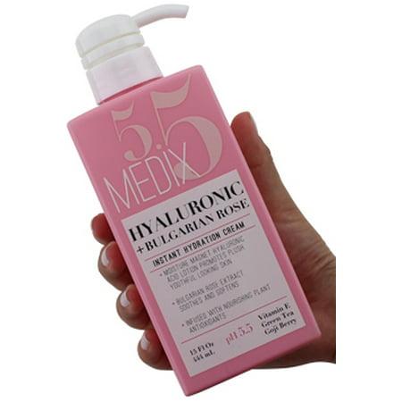Medix 5.5 Hyaluronic Acid Cream w/ Bulgarian Rose for face & body. Intense hydrating cream for wrinkles & fine lines. Anti-Aging Cream w/ Goji Berry, Green Tea, & Vitamin E. (The Body Shop Vitamin E Face Mist Review)
