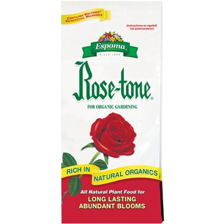 Image of 's Rose-Tone (4-3-2) All-Natural Plant Food - 8 Pound Bag, Rose-Tone gradually breakdown to provide a rich, long-lasting food reservoir By Espoma